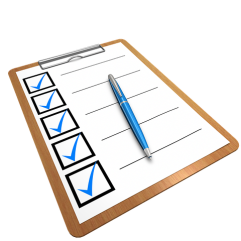 forms checklist