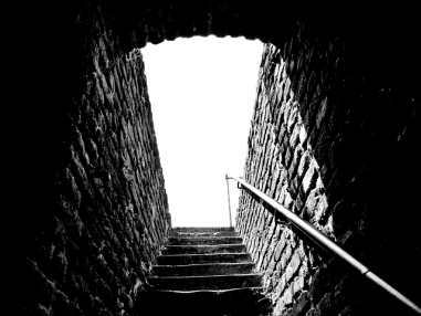 stairs brick steps