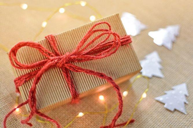 Christmas gift present lights